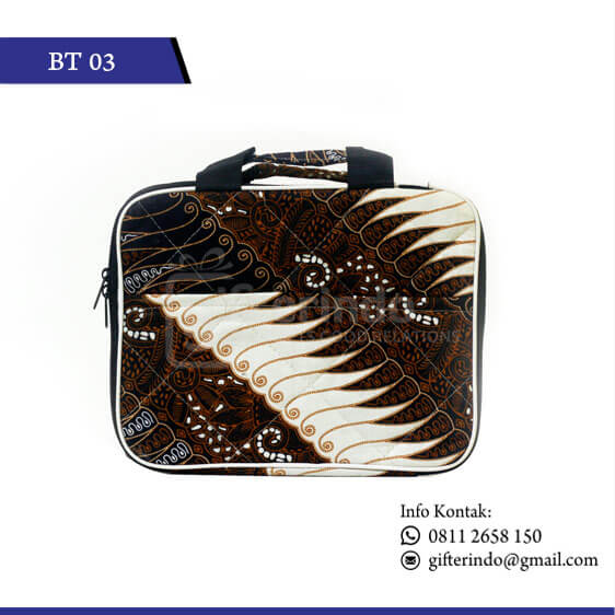 BT03 Tas Kulit Batik