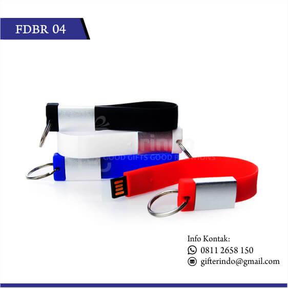 FDBR04 Flashdisk Karet Gantungan Kunci