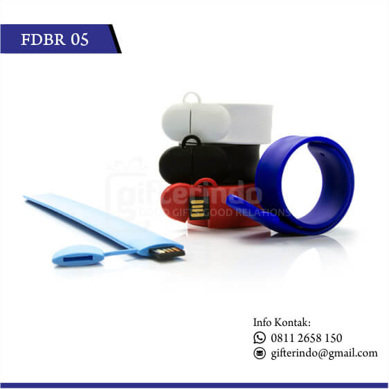 FDBR05 Flashdisk Karet Custom