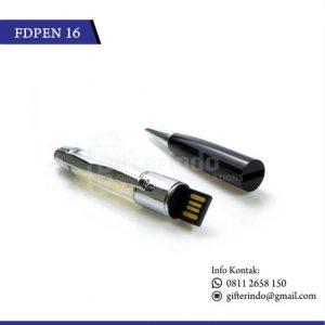 FDPEN16 Flashdisk Pen Kristal