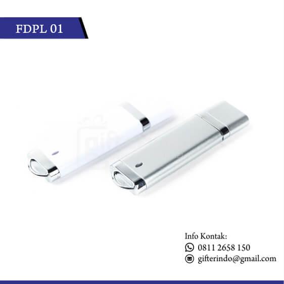 FDPL01 Flashdisk Plastik Custom Logo
