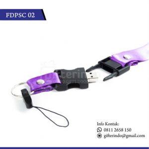 FDPSC02 Flashdisk Plastik Kalung