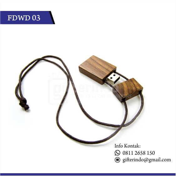 FDWD03 Flashdisk Kayu Tali