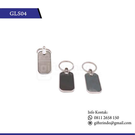 GLS04 Gantungan Kunci Stenlis Custom