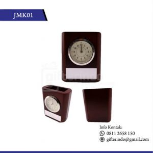 JMK01 Jam Meja Kayu Custom