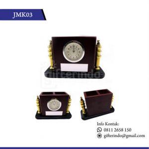 JMK03 Jam Meja Dua Lubang