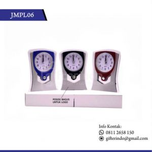 JMPL06 Jam Meja Plastik