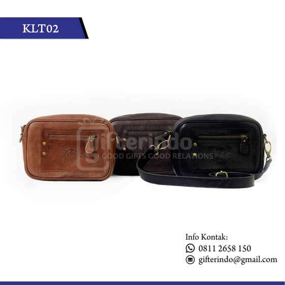 KLT02 Pouch Kulit