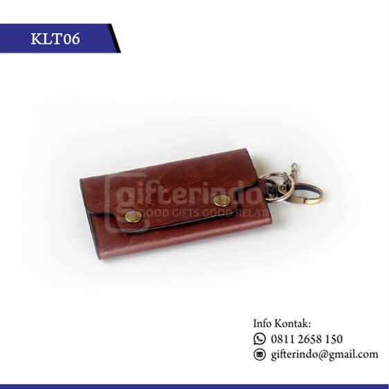 KLT06 Gantungan Kunci Mobil Kulit
