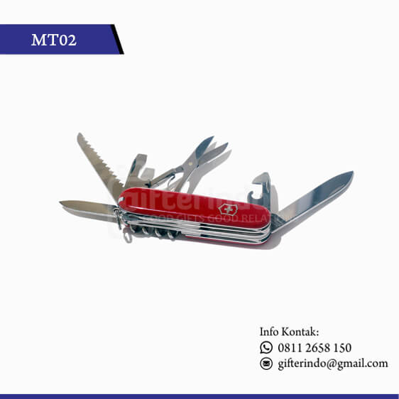 MT02 Multitools Merah