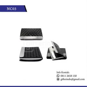 NC03 Office Suplies Name Card Holder Motif