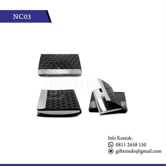 NC03 Office Suplies Name Card Holder Motif