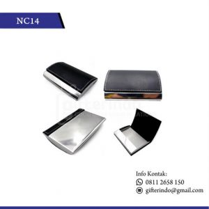 NC14 Office Suplies Name Card Kulit