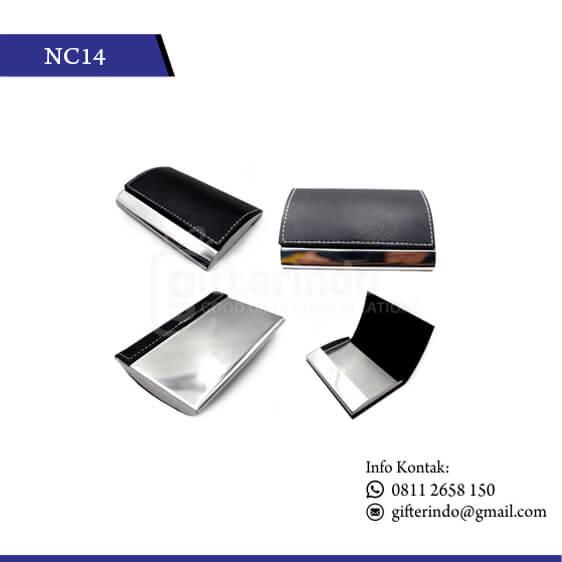 NC14 Office Suplies Name Card Kulit Unik
