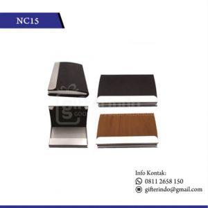 NC15 Office Suplies Name Card Kulit