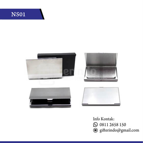NS01 Office Suplies Name Card Holder Stenlis