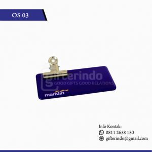 OS03 Name Tag Bank Mandiri