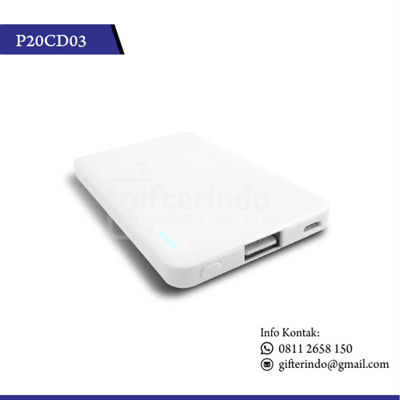 P20CD03 Powerbank Custom Logo