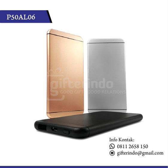 P50AL06 Powerbank Promosi 5000 Mah