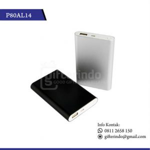 P80AL14 Powerbank 8000 mAh