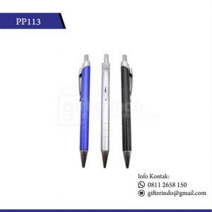 PP113 Pulpen Promosi Plastik Kantor