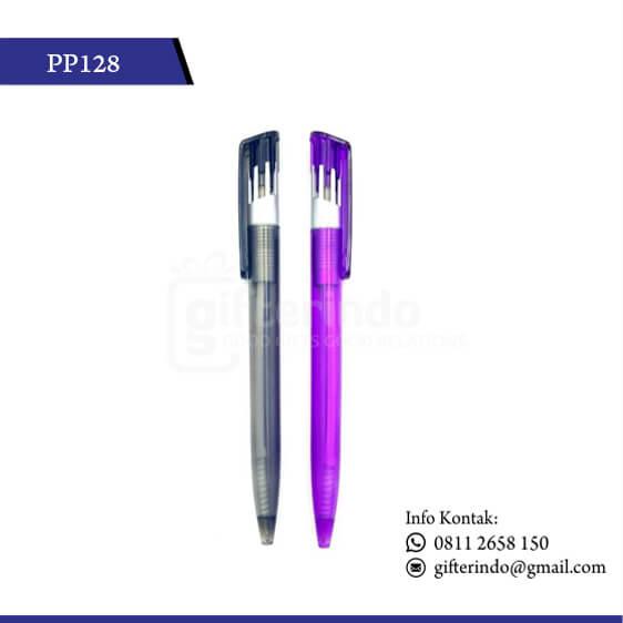 PP128 Pulpen Promosi Print Logo
