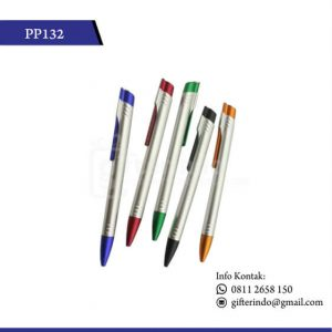 PP132 Pulpen Promosi Plastik