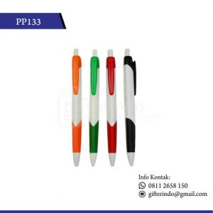 PP133 Pulpen Promosi Plastik
