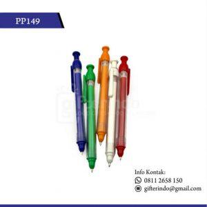 PP149 Pulpen Promosi Plastik Terbaik