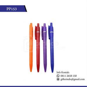 PP153 Pulpen Promosi Plastik