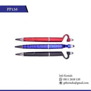 PP156 Pulpen Promosi Plastik Touchscreen