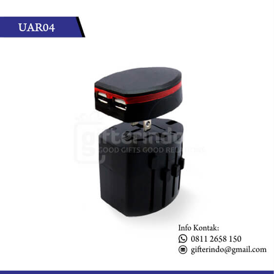 UAR04 Gadgets Accesories Travel Adapter