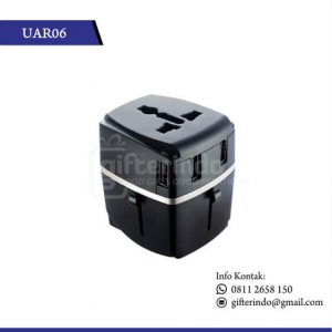 UAR06 Gadgets Accesories Travel Adapter 4 Port