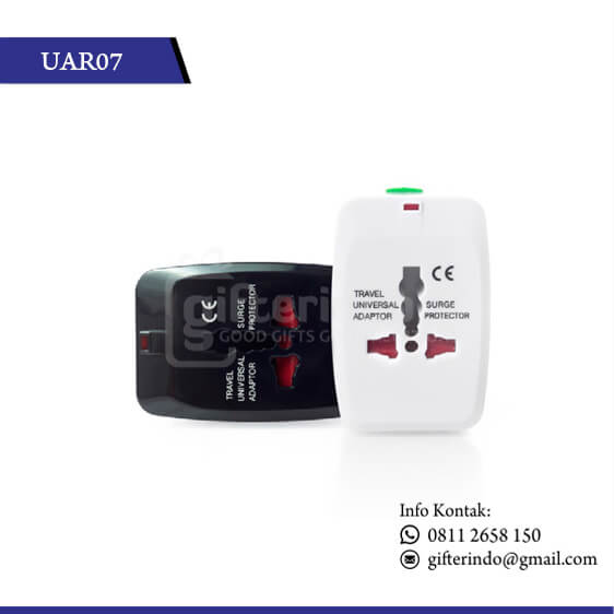 UAR07 Gadgets Accesories Travel Adapter 3 Pin