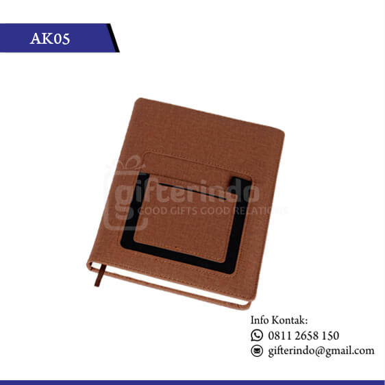 AK05 Office Suplies Booknote Coklat