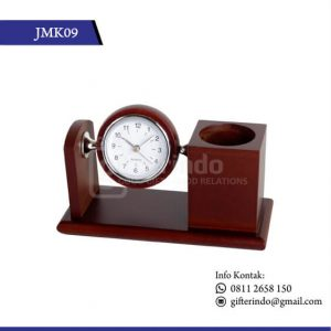 JMK09 Desk Clock Kayu