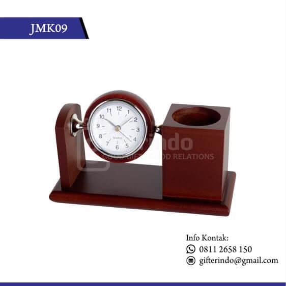 JMK09 Desk Clock Kayu