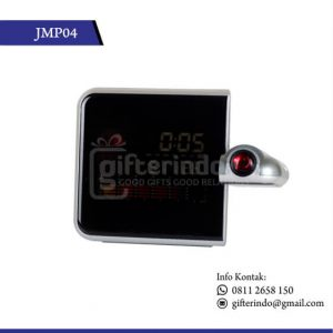 JMP04 Desk Clock Digital Hologram