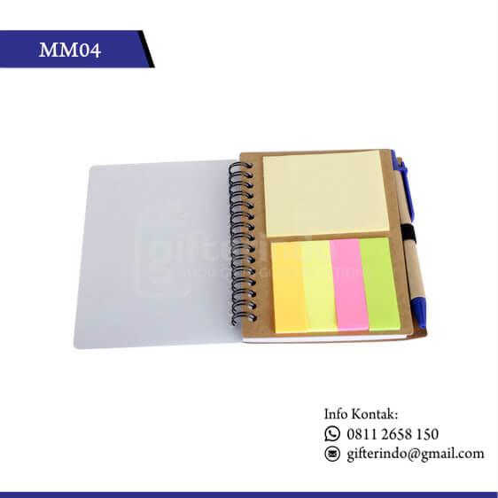 MM04 Office Suplies Memo Book