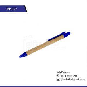 pulpen promosi biru