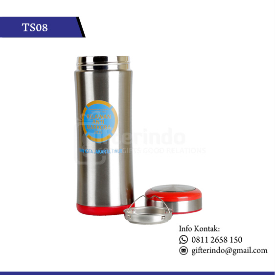 TS08 Drinkware Stenlis Print Logo