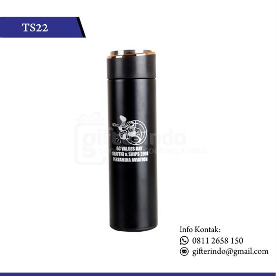 TS22 Drinkware Stenlis Hitam Doff