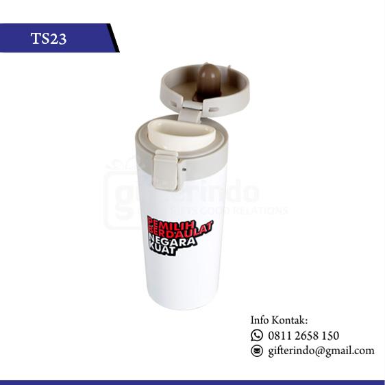 TS23 Drinkware Putih Print