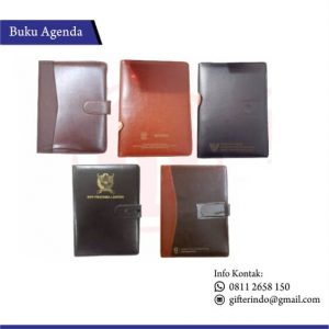 BA 01 - Buku Agenda Kulit Custom