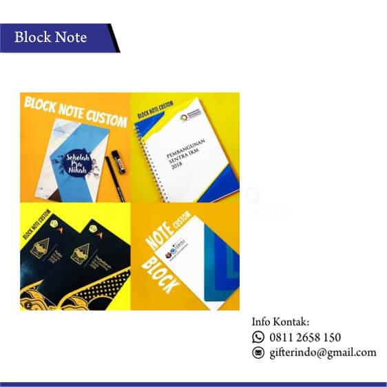 BN 01 - Block Note Custom