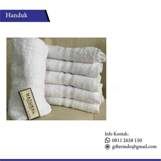 HAN 01 - Handuk Natural Custom Branding