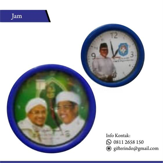 JD 03 - Jam Dinding Custom Media Promosi