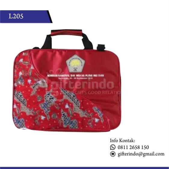 L205 - Tas Laptop Batik Custom