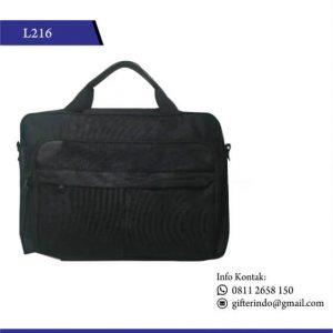 L216 - Tas Laptop Polos Custom