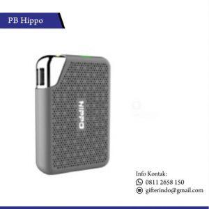 PBH01 - Powerbank Hippo Bronze Motif